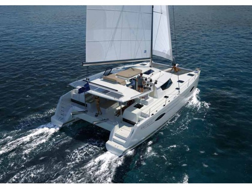 Rental Catamaran in Le Marin - Fountaine Pajot Helia 44