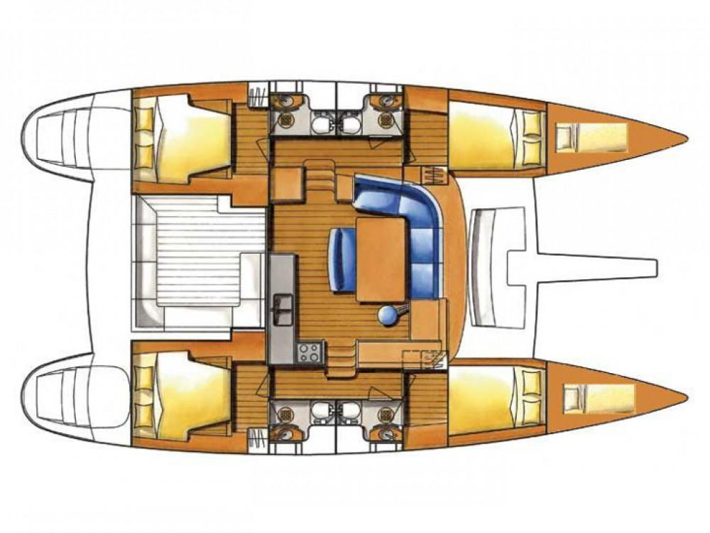 Boat rental Lagoon Lagoon 450 in Le Marin on Samboat