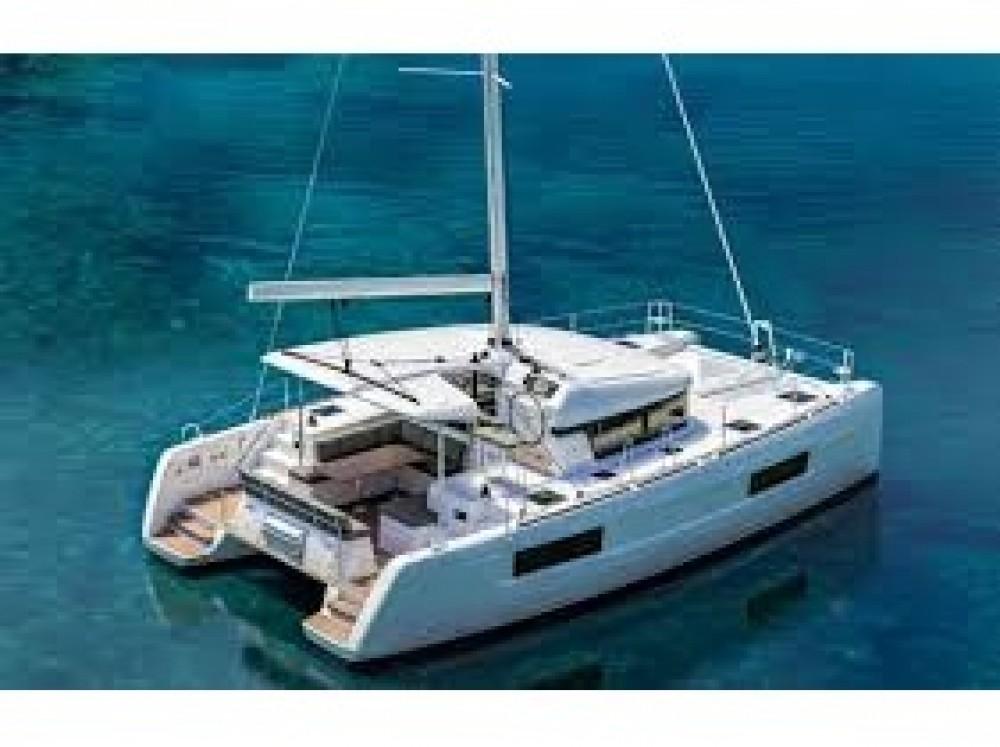 Boat rental Le Marin cheap Lagoon 40