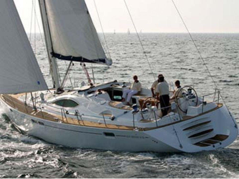 Rental Sailboat in Le Marin - Jeanneau Sun Odyssey 54DS-4
