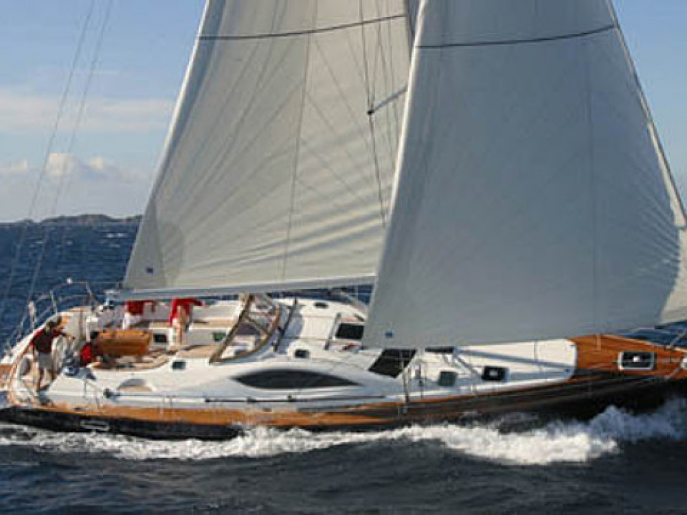 Jeanneau Sun Odyssey 54DS-4 between personal and professional Le Marin