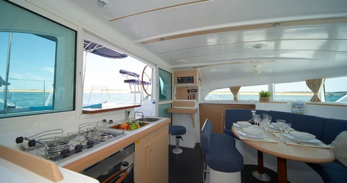 Boat rental Le Marin cheap Lagoon 380
