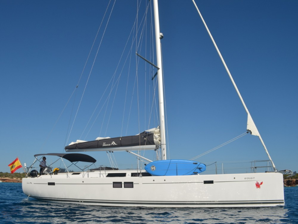 Rental Sailboat in Ibiza - Hanse Hanse 505