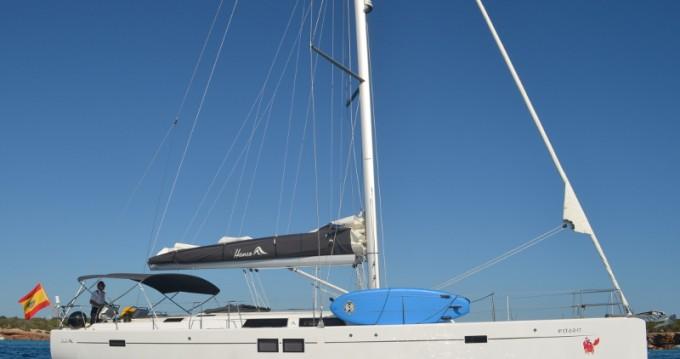 Rental yacht Ibiza Town - Hanse Hanse 505 on SamBoat