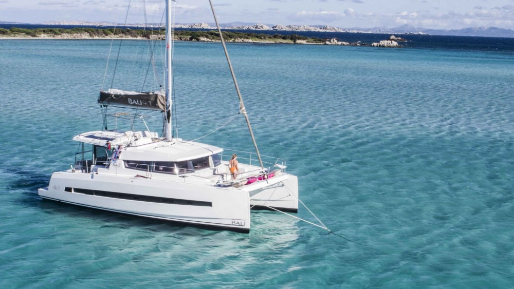 Hire Catamaran with or without skipper Bali Kavala