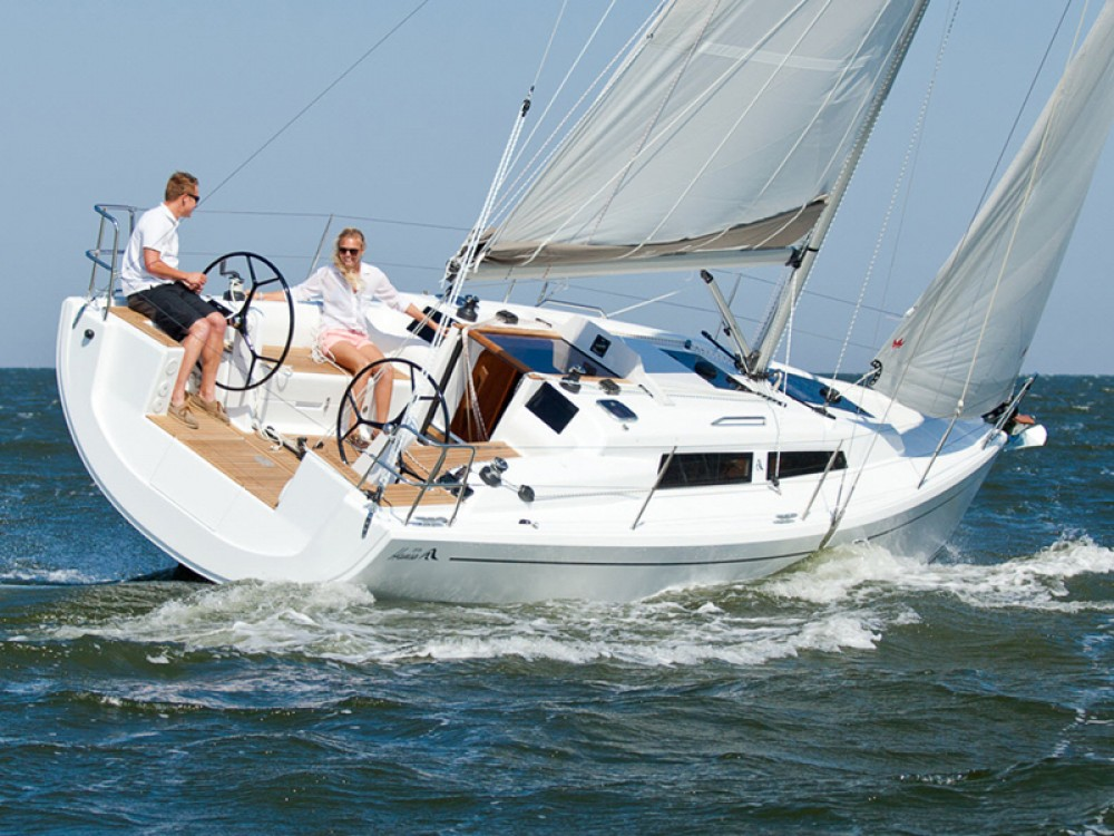 Hanse Hanse 315 between personal and professional Morningside marina