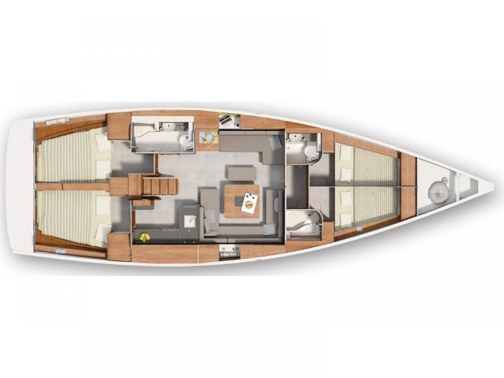 Rental yacht Morningside marina - Hanse Hanse 455 on SamBoat