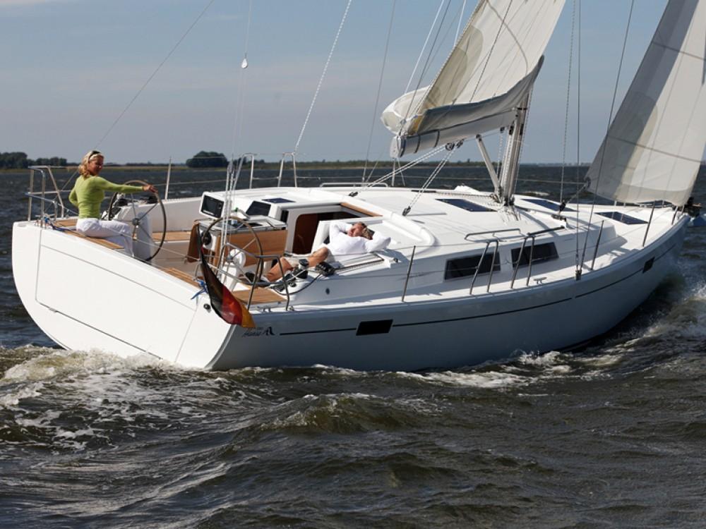 Rental Sailboat in Nacka - Hanse Hanse 385