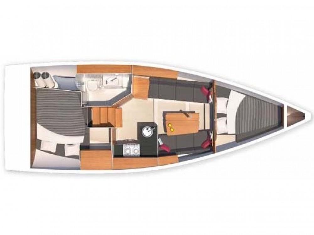 Rental Sailboat in Morningside marina - Hanse Hanse 315