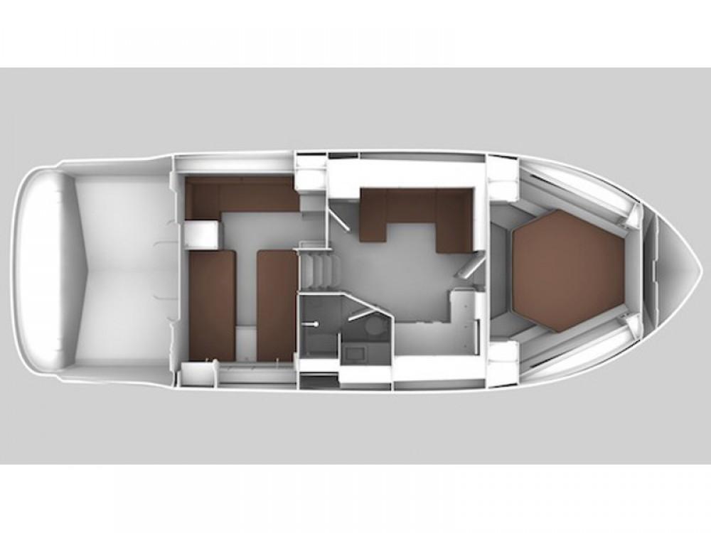 Boat rental  cheap Bavaria 400 Coupe