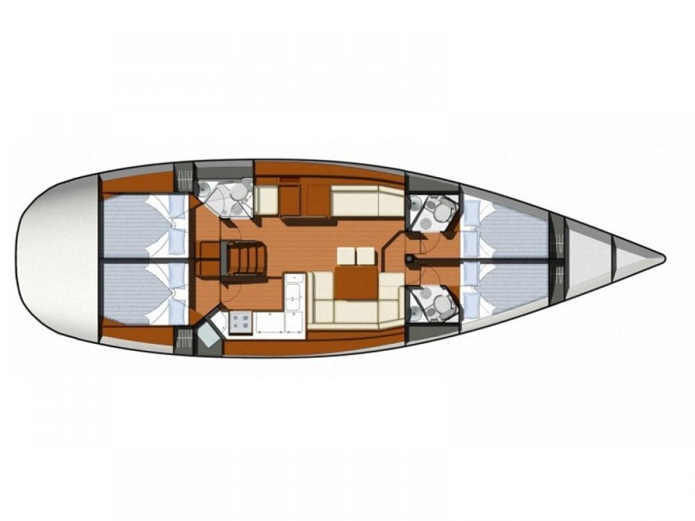 Boat rental Jeanneau Sun Odyssey 50 DS in Šibenik on Samboat
