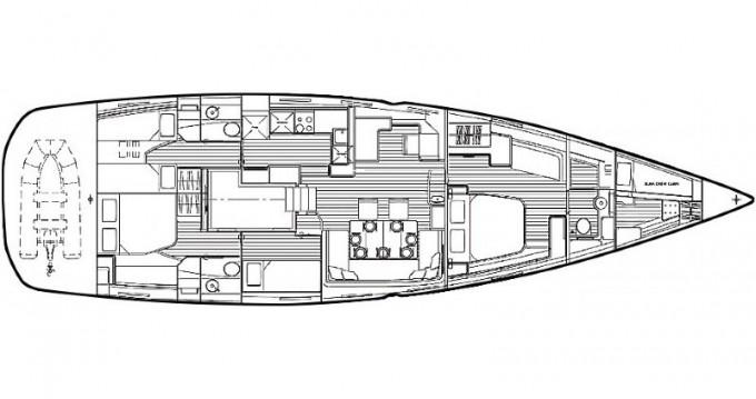 Boat rental Šibenik cheap Jeanneau 64