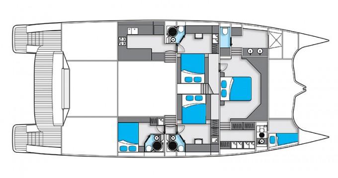 Boat rental Sunreef Sunreef 70 Power in Šibenik on Samboat