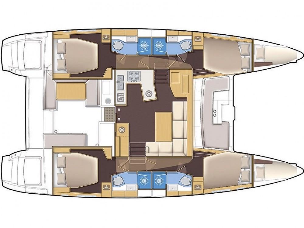 Rental Catamaran in Šibenik - Lagoon Lagoon 450 F