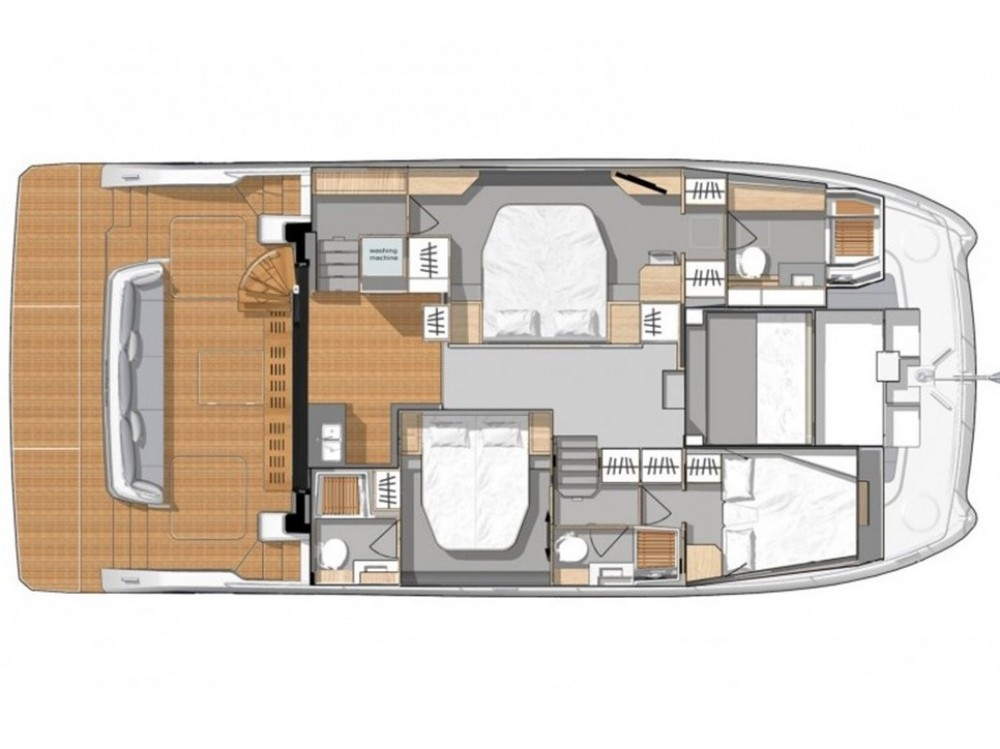 Fountaine Pajot MY 44 Fountaine Pajot between personal and professional Šibenik