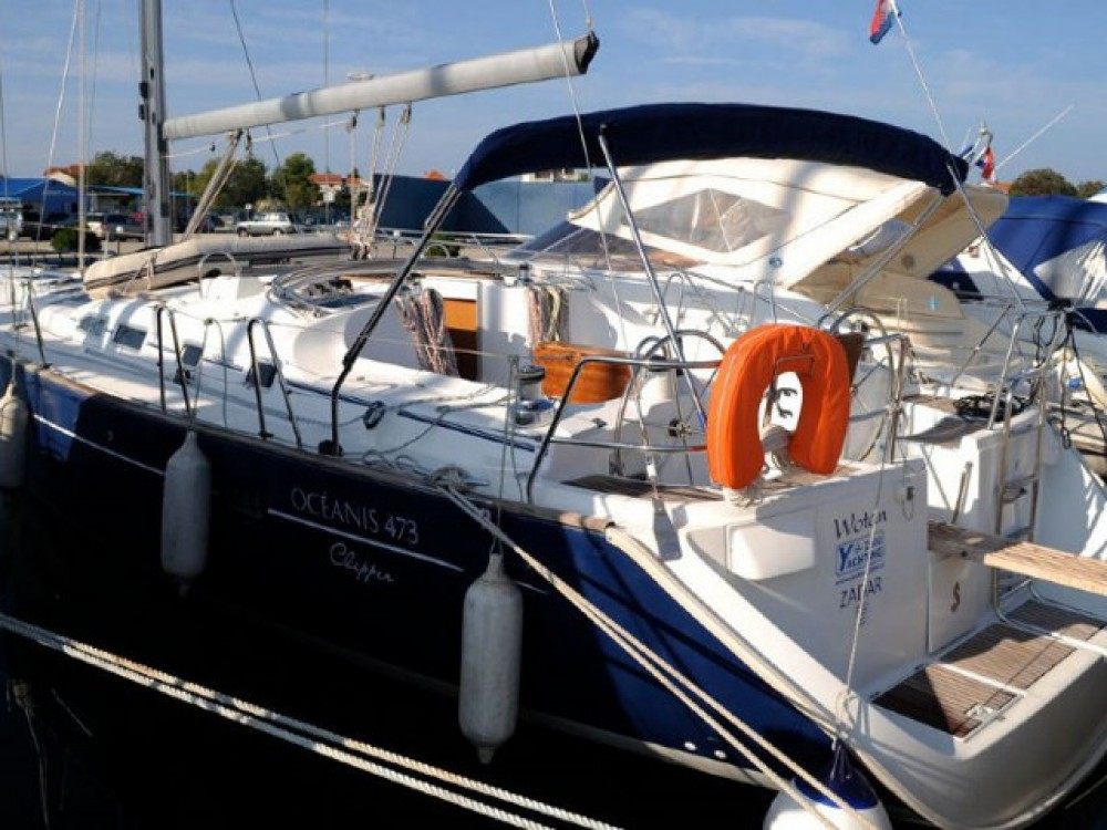Rental Sailboat in Sibenik - Bénéteau Oceanis 473 C
