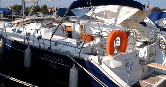 Boat rental Bénéteau Oceanis 473 C in Šibenik on Samboat