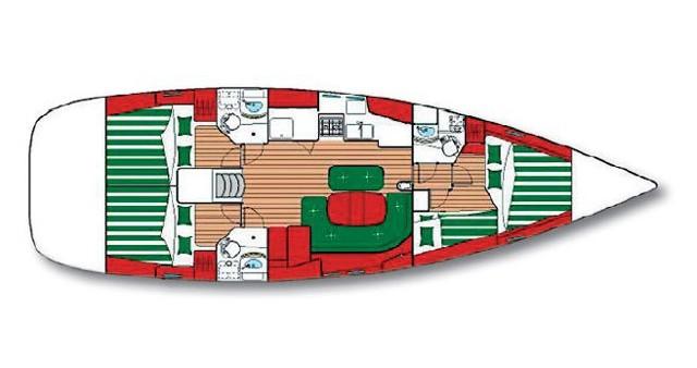Rental yacht Šibenik - Bénéteau Oceanis 473 C on SamBoat