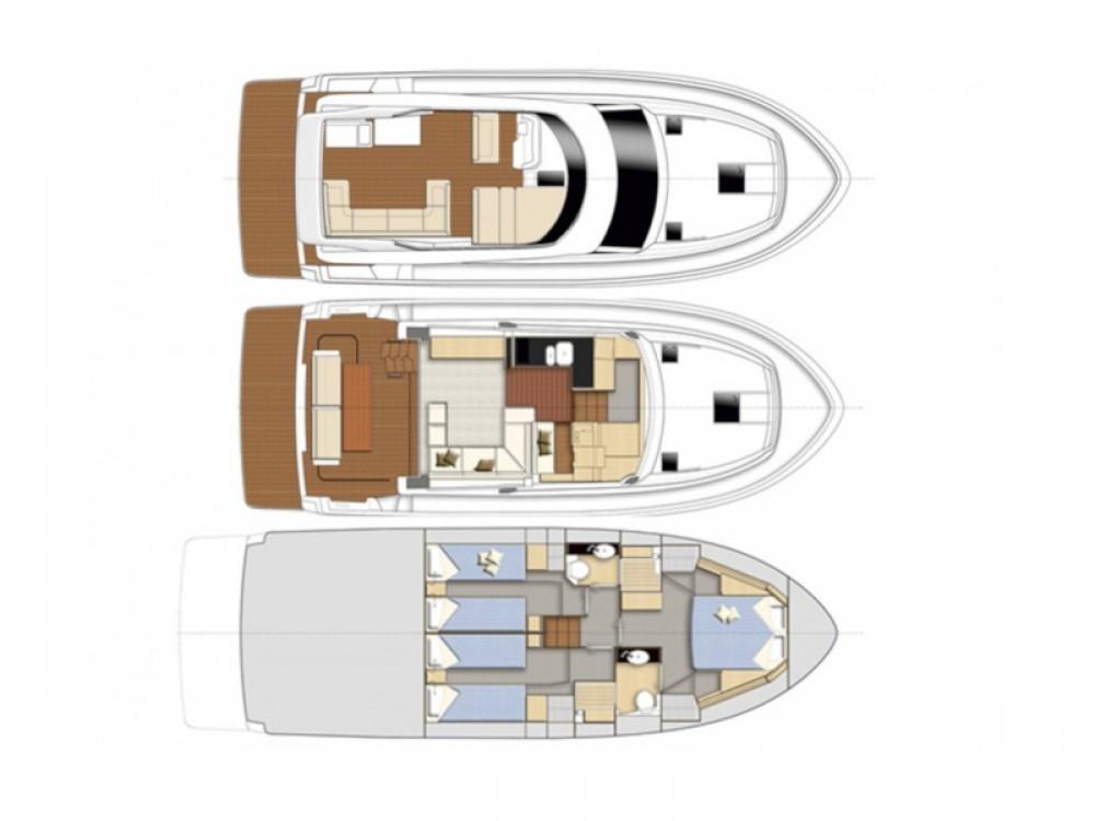 Rental yacht  - Bavaria Bavaria Virtess 420 Fly on SamBoat