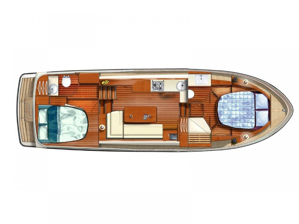 Boat rental Linssen Linssen Grand Sturdy 350 AC in Buchholz on Samboat