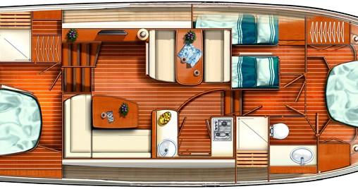 Boat rental Linssen Linssen GS 40.9 AC in Mirow on Samboat