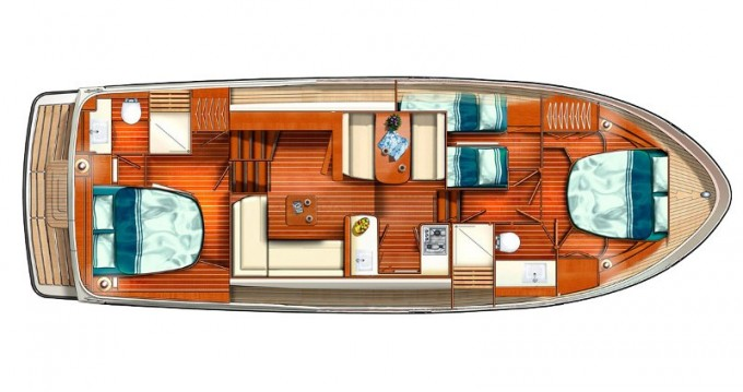 Boat rental Linssen Linssen Grand Sturdy 40.0 AC in Mildenberg on Samboat
