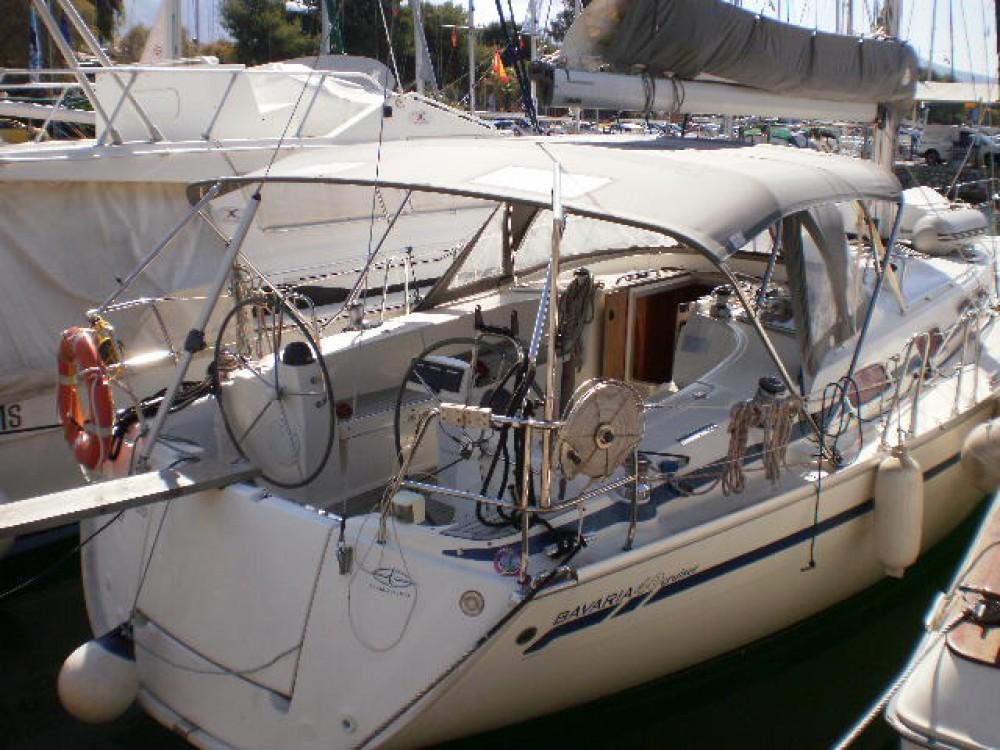 Boat rental Akhíllio cheap Bavaria 40 Cruiser