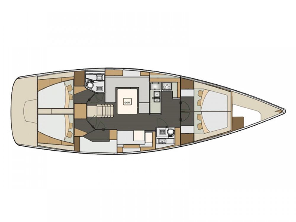 Rental Sailboat in Šibenik - Elan Elan 50 Impression