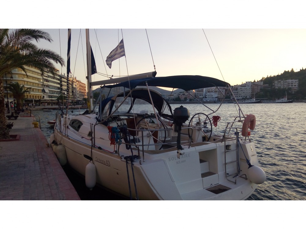Hire Sailboat with or without skipper Bénéteau Akhíllio