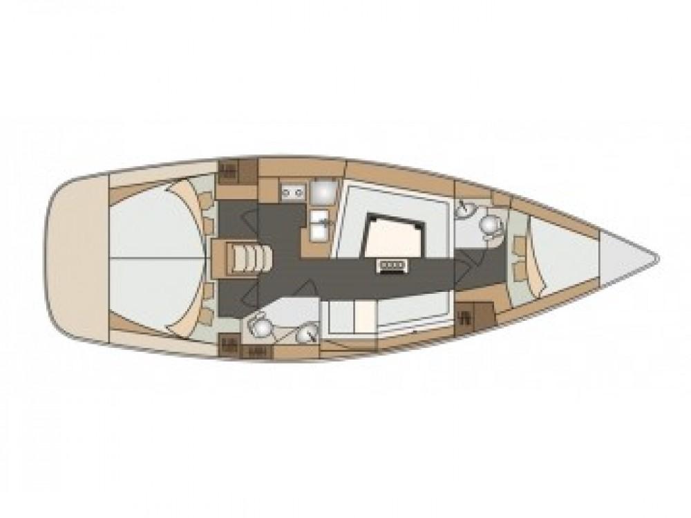 Boat rental Sebenico cheap Elan 40 Impression