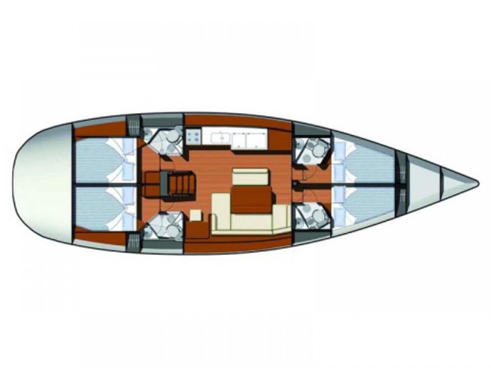 Rental yacht Šibenik - Jeanneau Sun Odyssey 49i on SamBoat