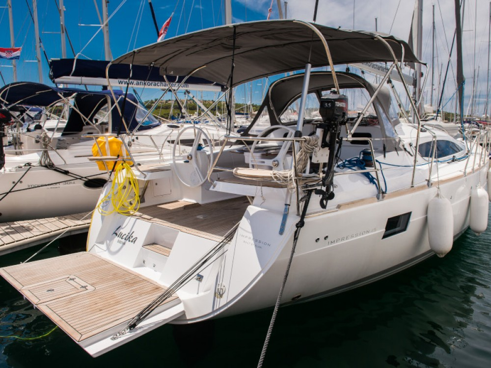 Boat rental Šibenik cheap Elan 45 impression