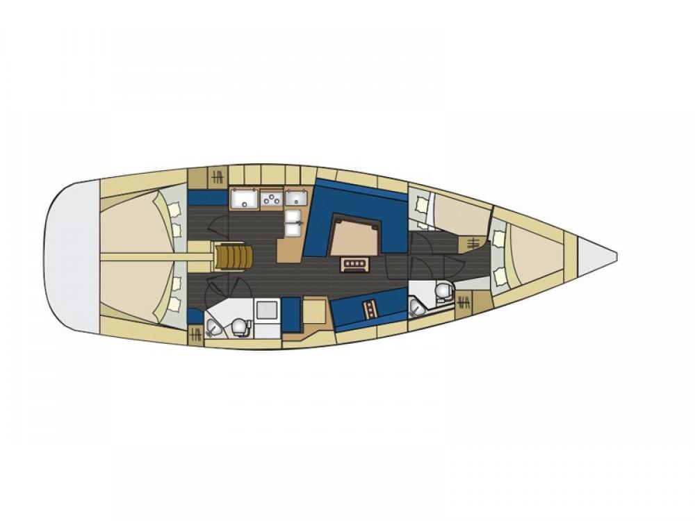 Boat rental Šibenik cheap Elan 444 Impression