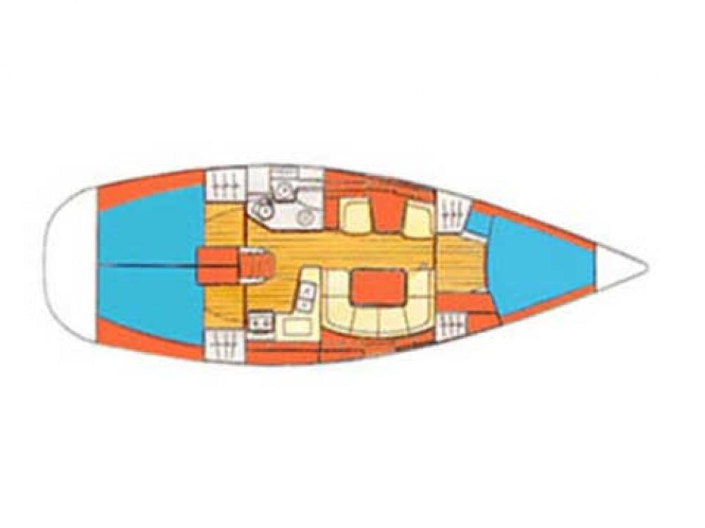 Rental Sailboat in Šibenik - Jeanneau Sun Odyssey 40.3