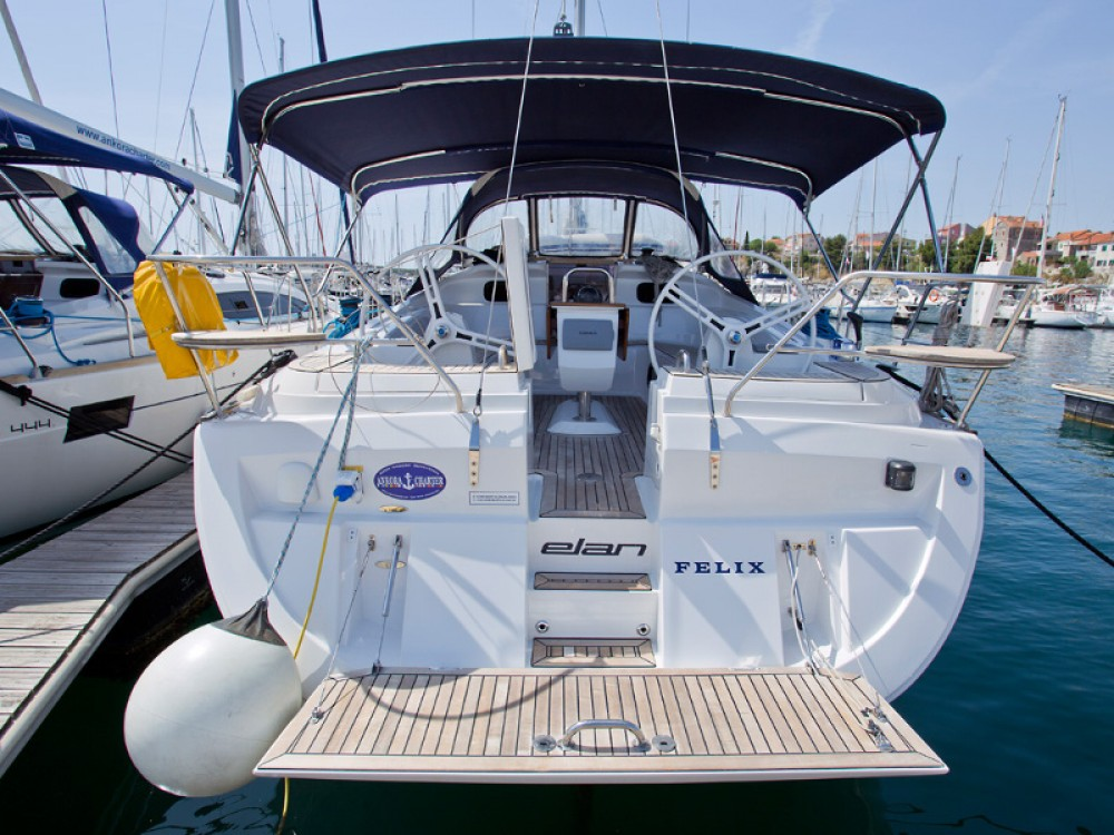 Boat rental  cheap Elan 444 Impression
