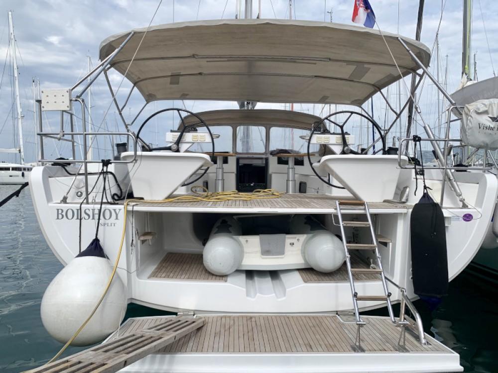 Boat rental Marina Kaštela cheap Hanse 575