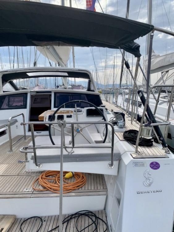 Rental yacht Marina Kaštela - Bénéteau Sense 55 on SamBoat