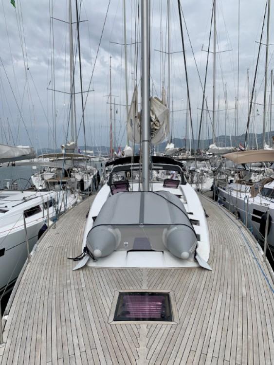 Rental Sailboat in Marina Kaštela - Bénéteau Sense 55