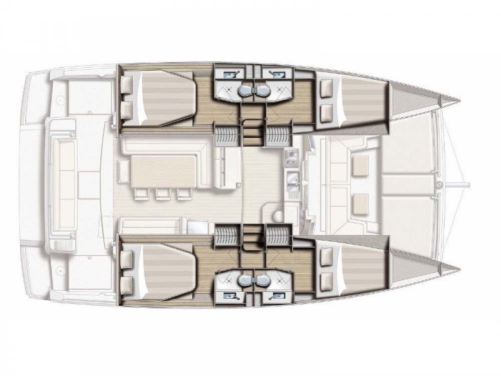 Hire Catamaran with or without skipper Bali Marina d'Arechi