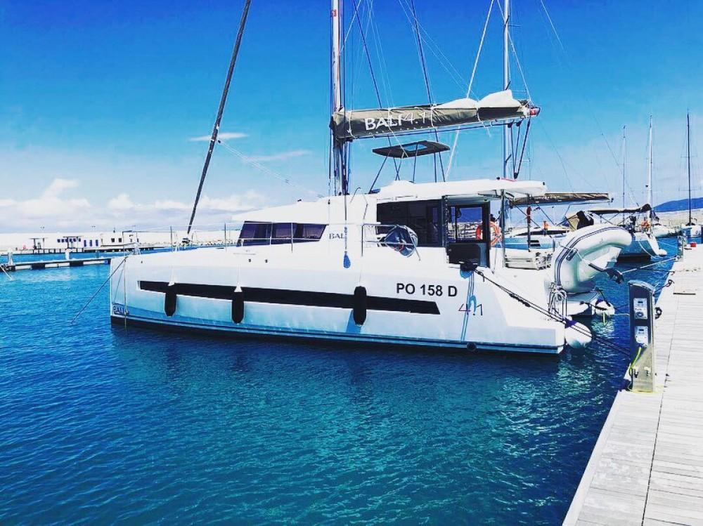 Rental Catamaran in Capo d'Orlando Marina - Bali Bali 4.1 Capo d'Orlando ROXY