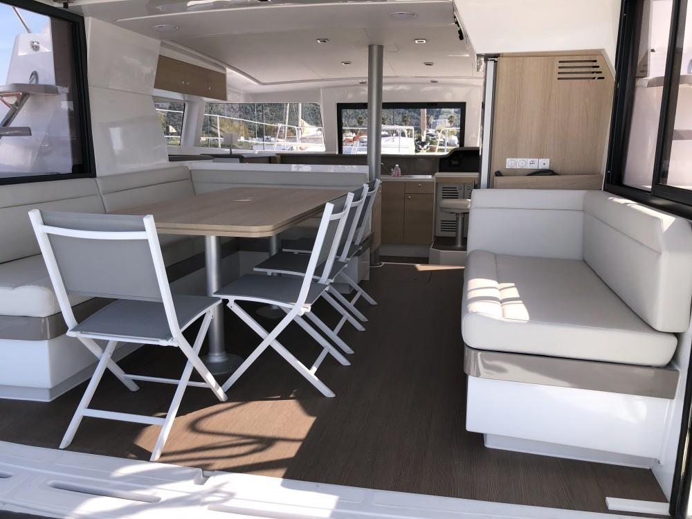 Catamaran for rent Marina d'Arechi at the best price