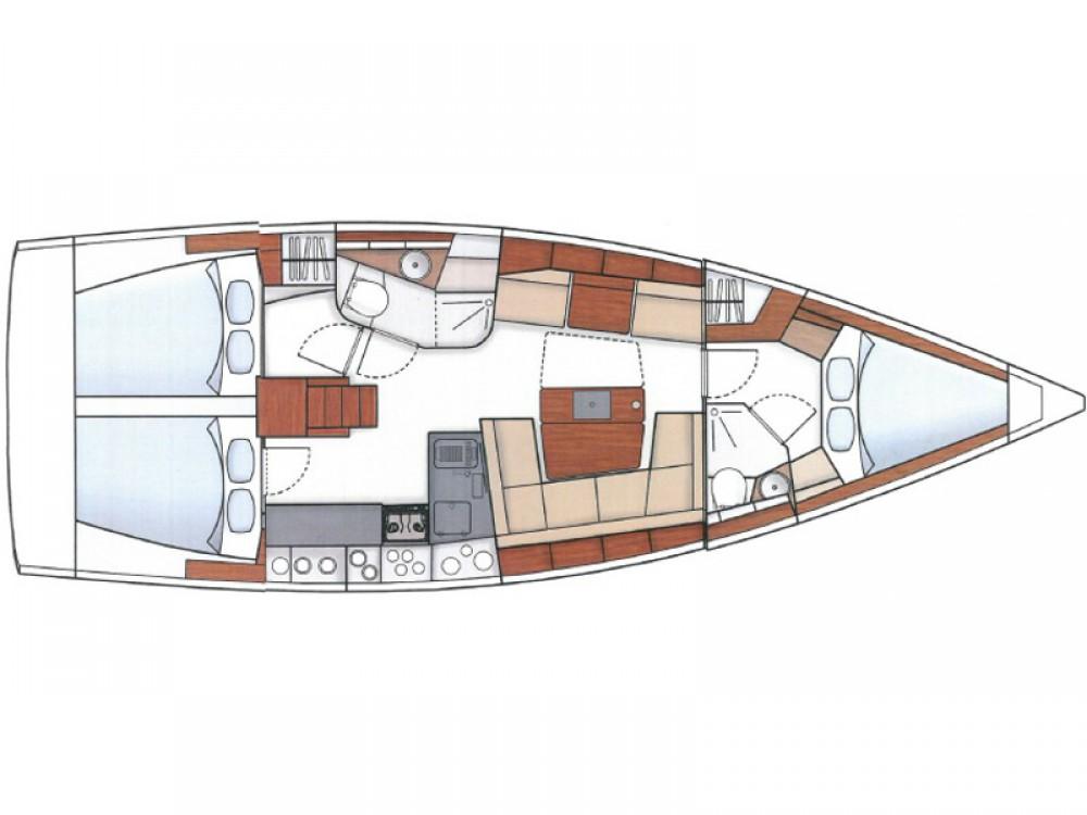 Boat rental  cheap Hanse 415 BVI
