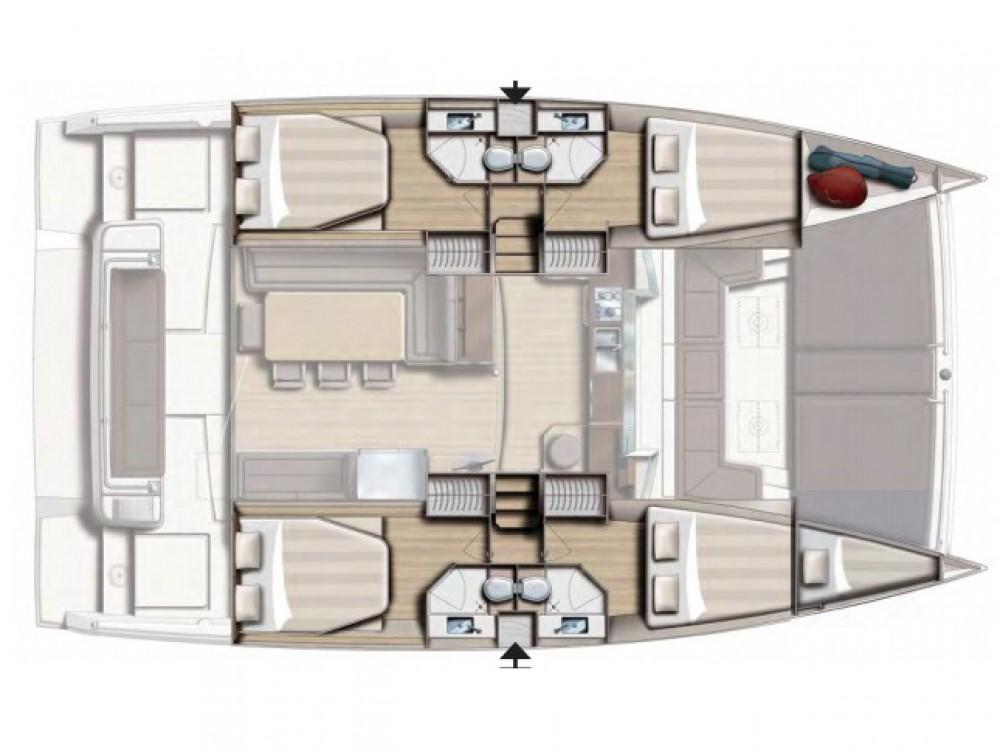 Boat rental Salerno cheap Bali 4.3  Shadow Line