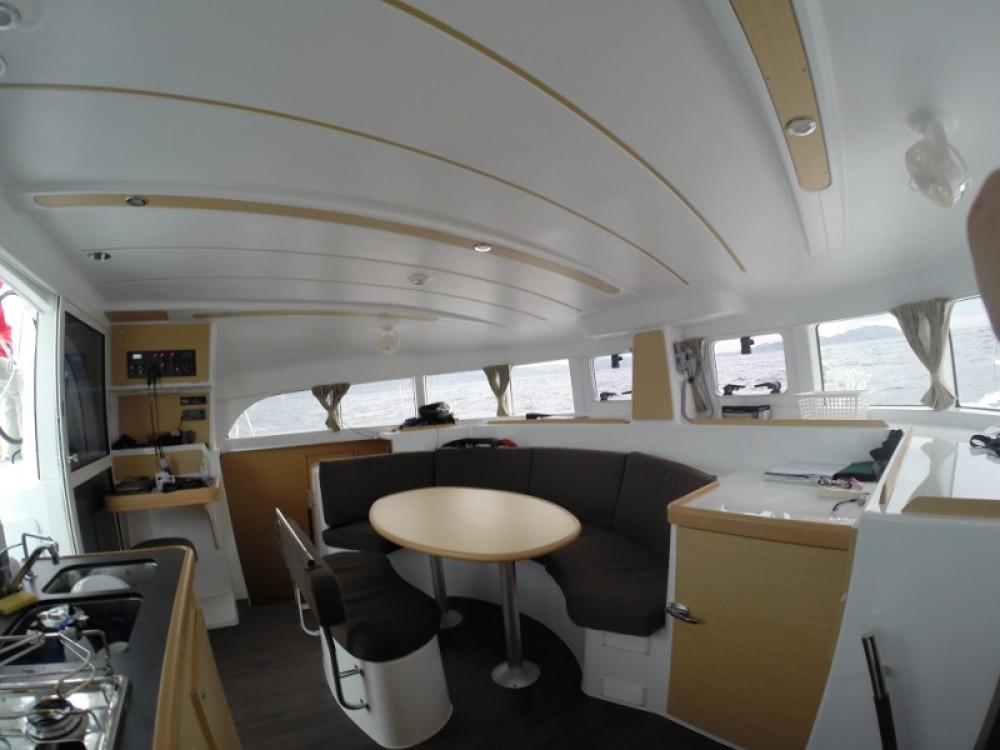Boat rental Sant Antoni de Portmany cheap Lagoon 380