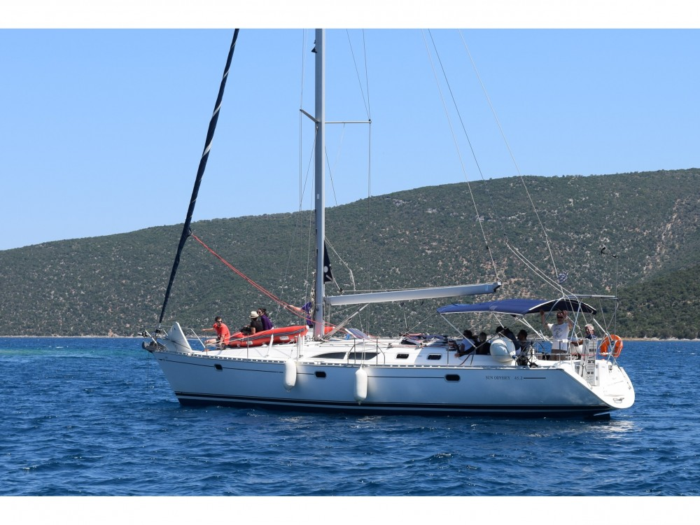 Boat rental Volos cheap Sun Odyssey 45.2