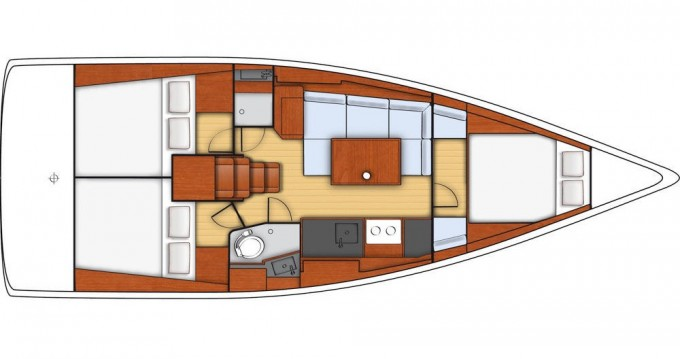 Rental Sailboat in Šibenik - Bénéteau Oceanis 38