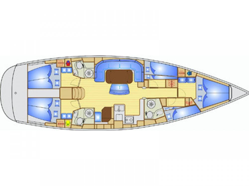 Boat rental Bavaria Bavaria 49 in  on Samboat