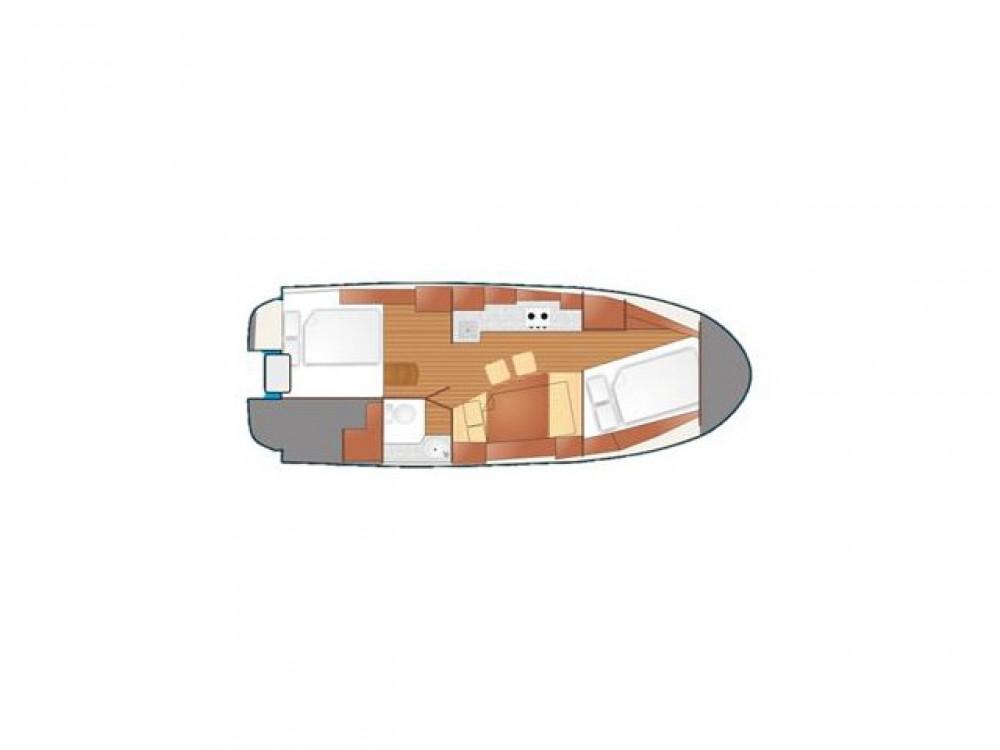 Rental yacht  - Northman Nexus 850 on SamBoat
