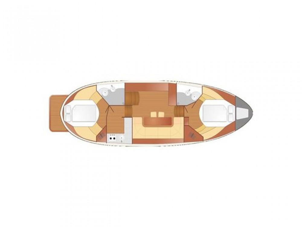 Boat rental Nautiner Nautiner 40.2 AFT in Wilkasy on Samboat