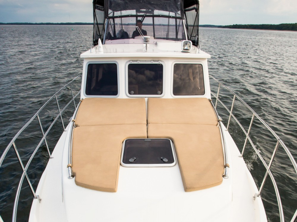 Rental Motorboat Nautiner with a permit
